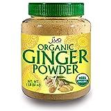 Organic Ginger Root Powder, 1 LB Bulk - Non GMO - for Cooking, Baking, Tea, Health Support -by Jiva Organics (Tamaño: 1 Pound)