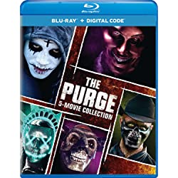 The Purge: 5-Movie Collection [Blu-ray]