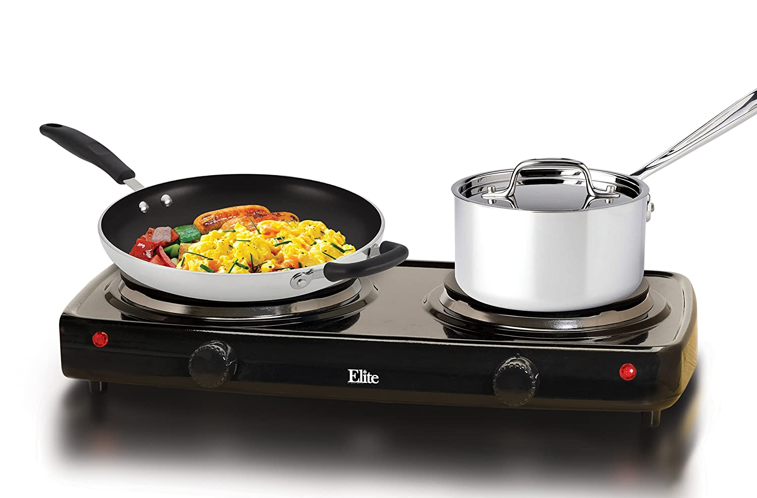 Electric Cooking Plate ~ Double burner hot plate electric stove cooktop cooking