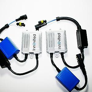 H7-3000K Innovited Premium AC Canbus HID Kit 100/% Error Free No Flicker No Warning