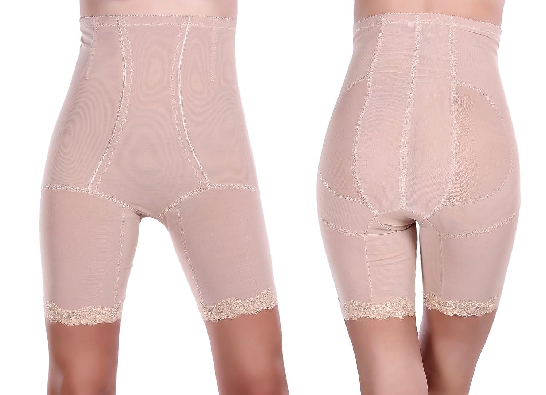 Figurformende Miederhose mit Bein Miederslip Bauchweg Shapewear Mieder Gr. M-XL günstig online kaufen