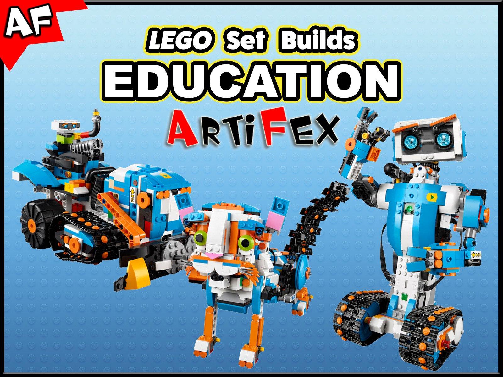 Clip: Lego Set Builds Education - Season 1