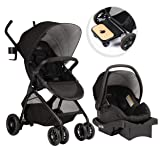 Evenflo Sibby Travel System, Charcoal (Color: Charcoal/grey)
