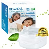 Snore Stopper Mouthpiece Snoring Solution, Sleep Aid Night Mouth Guard Bruxism Mouthpiece (Color: Transparent)