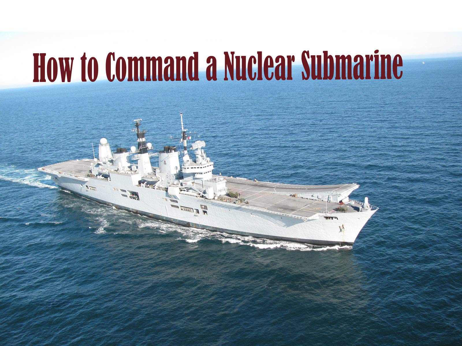 How to Command a Nuclear Submarine on Amazon Prime Video UK