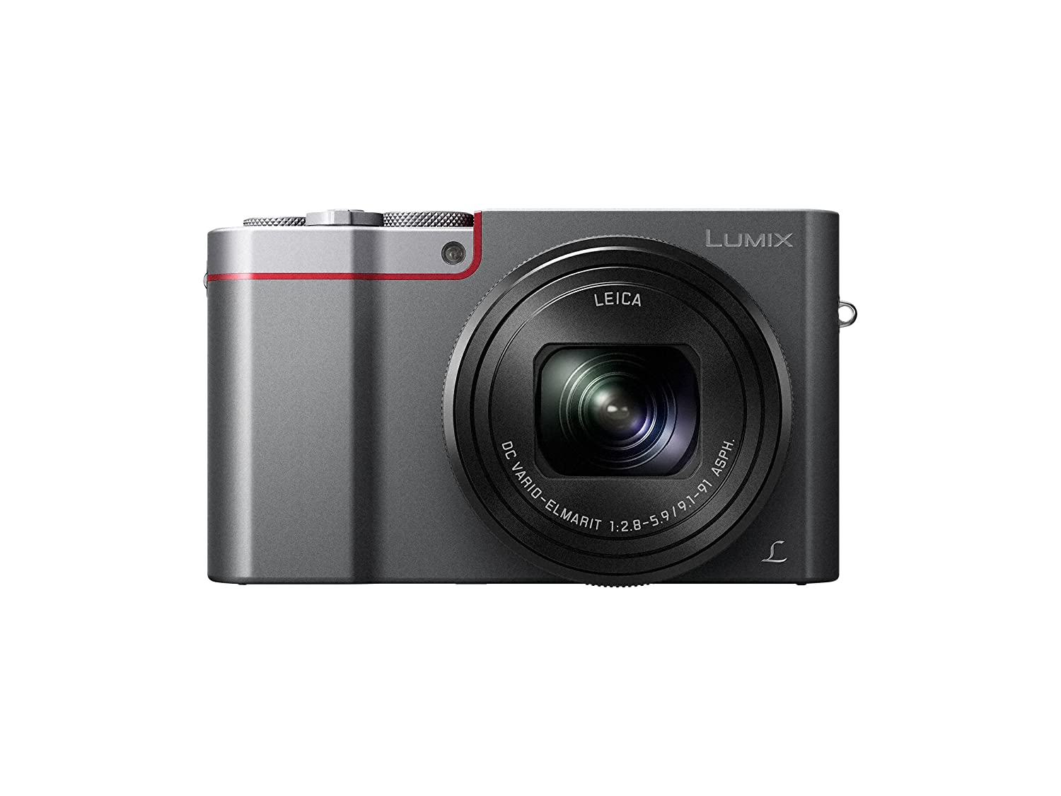 Panasonic DMC-ZS100S LUMIX 4K Digital Camera with 20 Megapixel Sensor, WiFi (Silver)