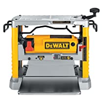 DeWalt DW734 Heavy Duty 12½ inch Thickness Planer with 3-Knife Cutter Head
