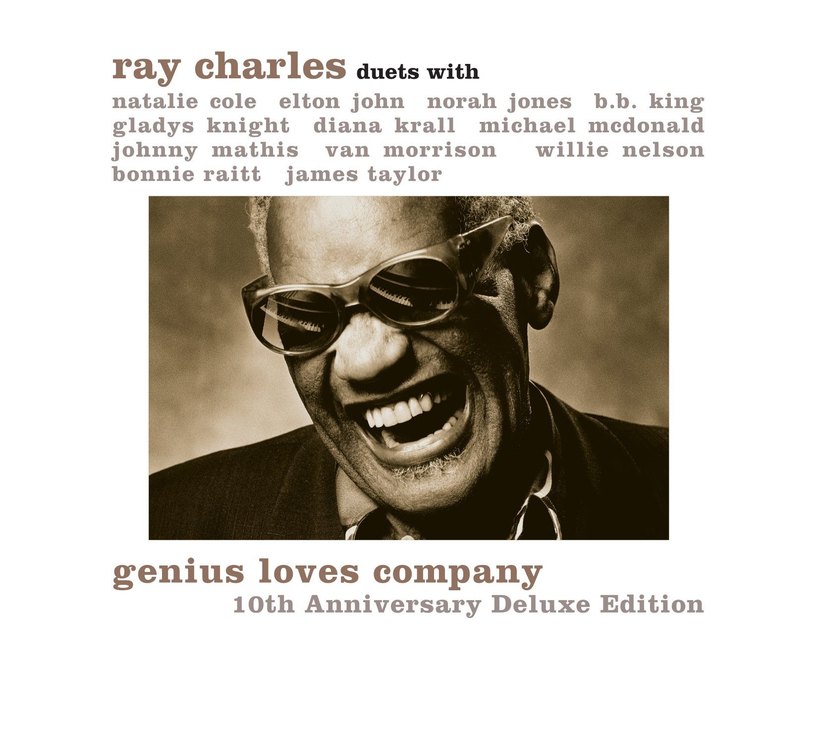 Ray Charles – Genius Loves Company (2004) (10th Anniversary Edition '2014) [Official Digital Download 24bit/192kHz]