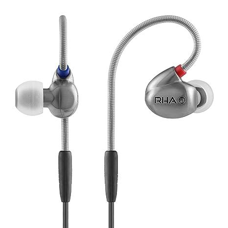 RHA T10 Écouteurs intra-auriculaires haute fidélité, isolant du bruit