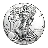 2018 American Silver Eagle with Airtite Holder .999 Fine Silver Dollar Brilliant Uncirculated