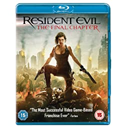 Resident Evil: The Final Chapter 2016  Region Free [Blu-ray]