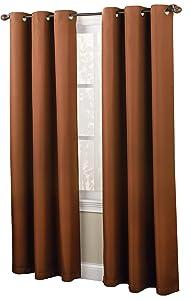 montego woven grommet top panel