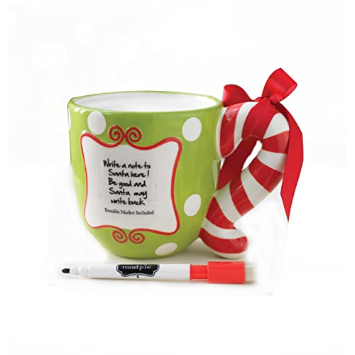 Mud Pie Letter to Santa Mug 16 Ounce