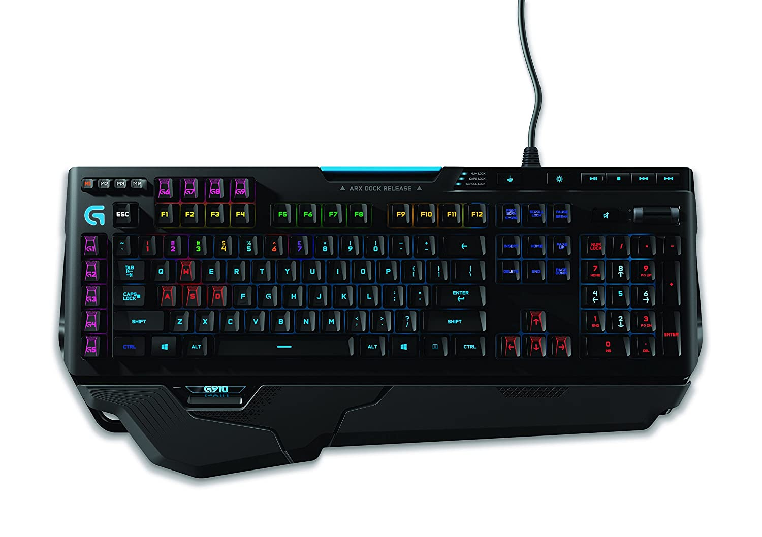 Best Mechanical Keyboards Logitech G910 Orion Spark