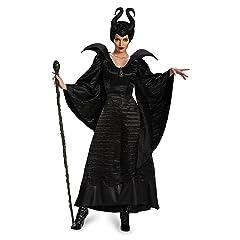 Disguise Womens Disney Maleficent Movie Maleficent Christening Black Gown