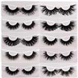 25mm Mink Lashes 3D Fluffy Mink Eyelashes 100% Siberian Wholesale&Bulk Lashes Set