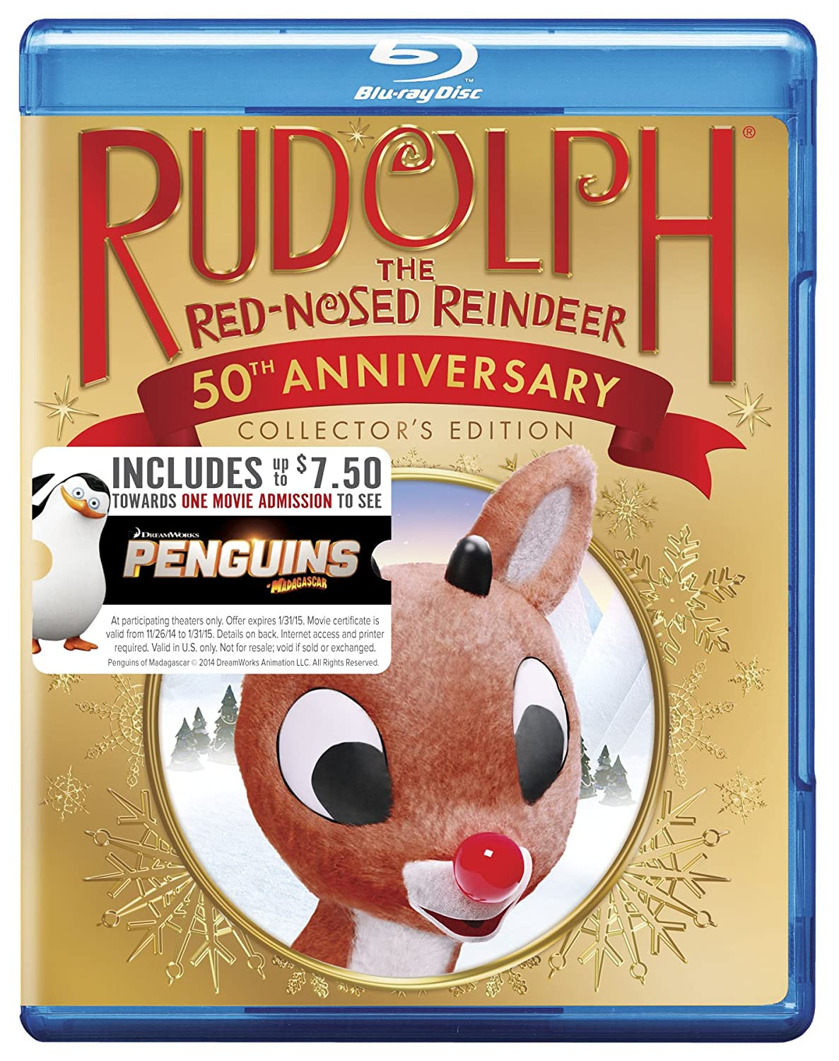Rudolph the Red Nosed Reindeer: 50th Anniversary