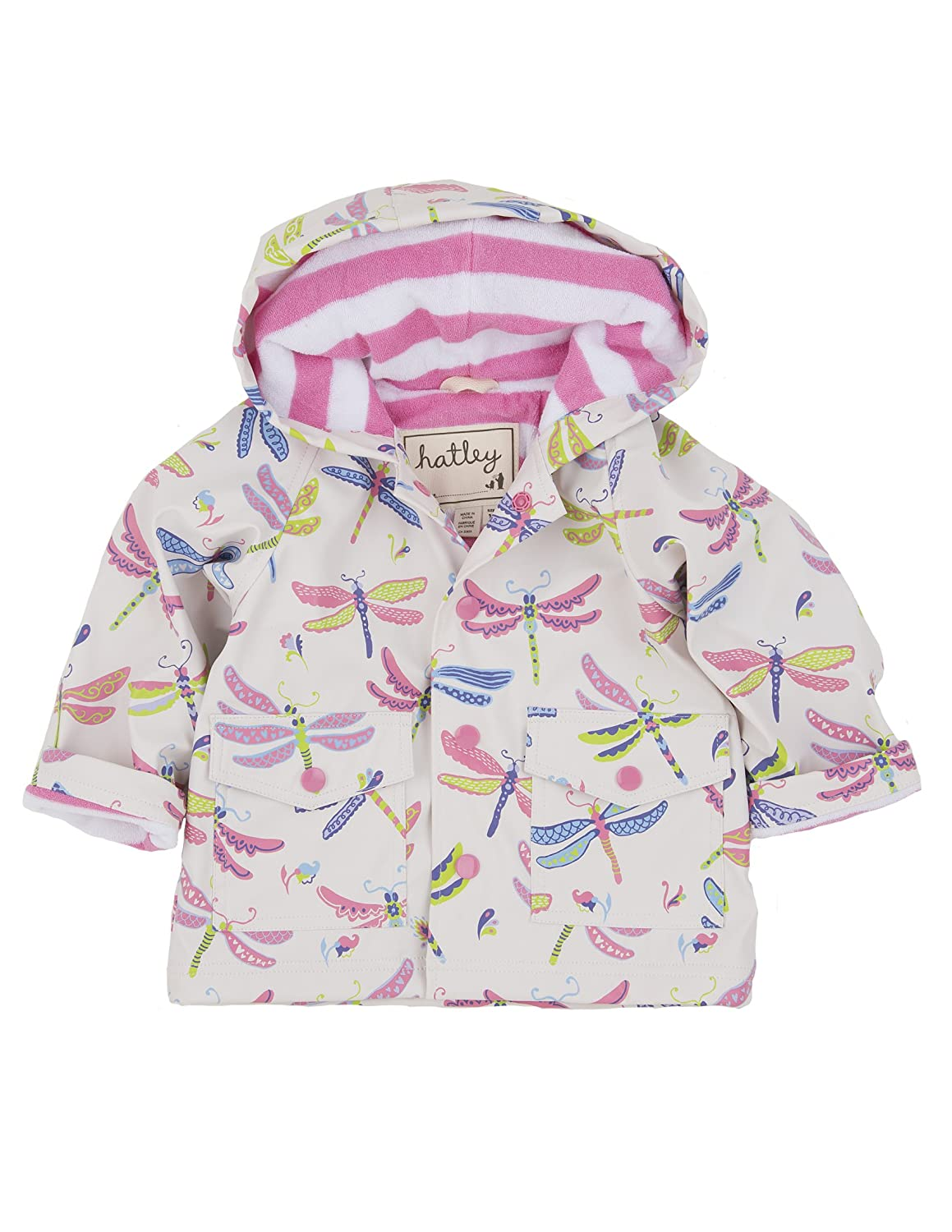 Hatley   Baby Baby Girls' Raincoat Dragonflies hatley зонт для девочки hatley
