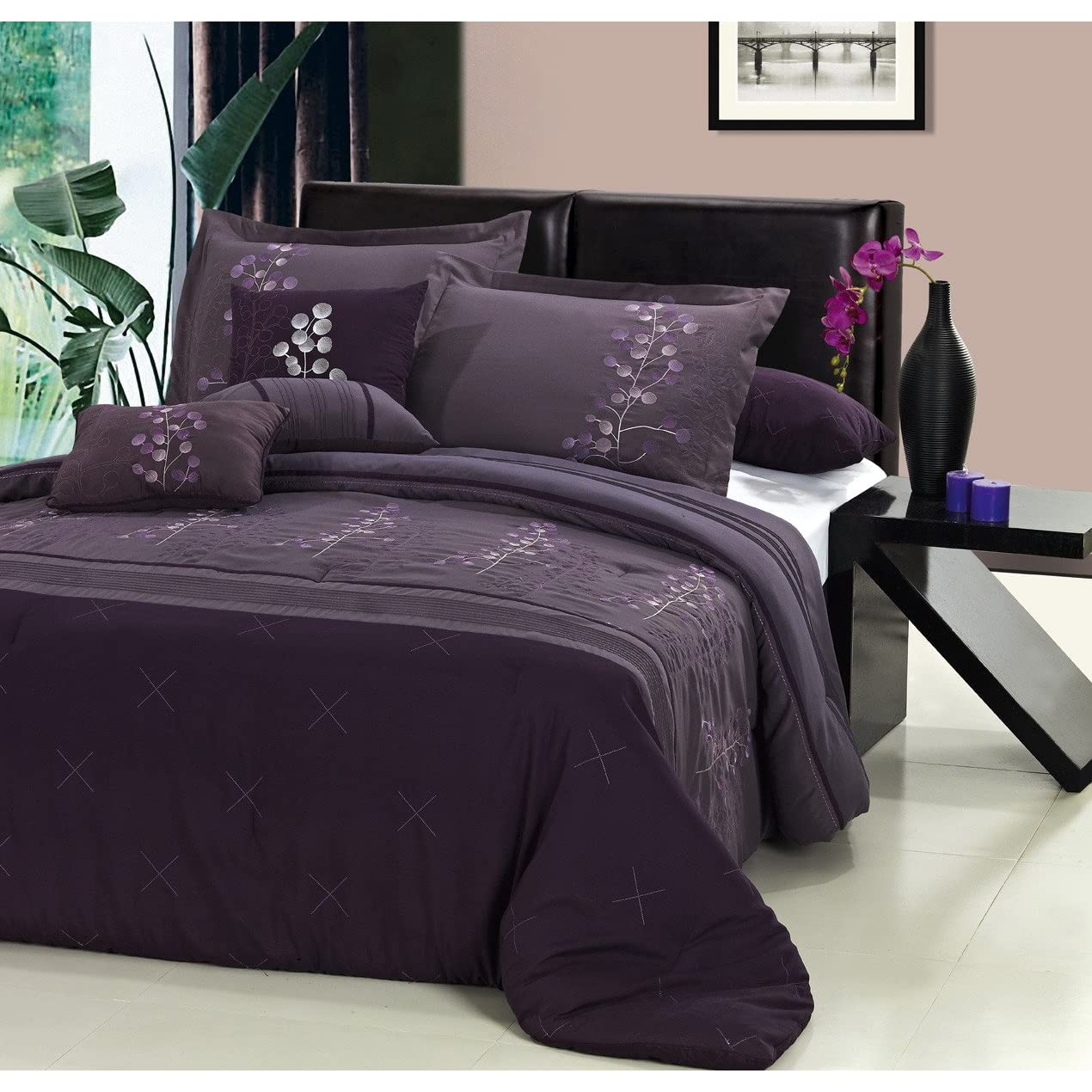 Remarkable Purple Bedroom Comforter Sets 1270 x 1270 · 262 kB · jpeg