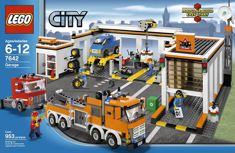 Lego City Garage : Lego city u große feuerwehrstation u vos fg