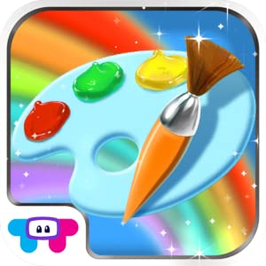 Paint Sparkles Draw - My First Coloring Book HD! by TabTale LTD
