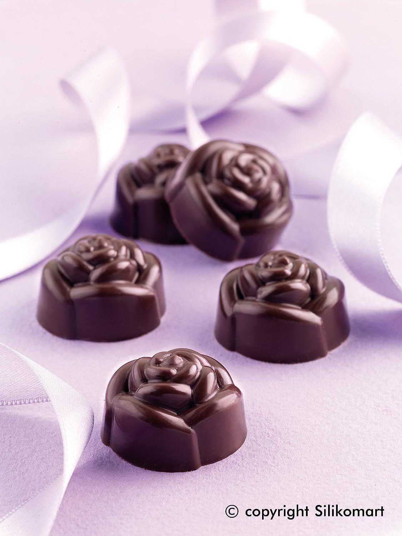 Silikomart Silicone Chocolate Rose Mold форма для выпечки silikomart sft722w h