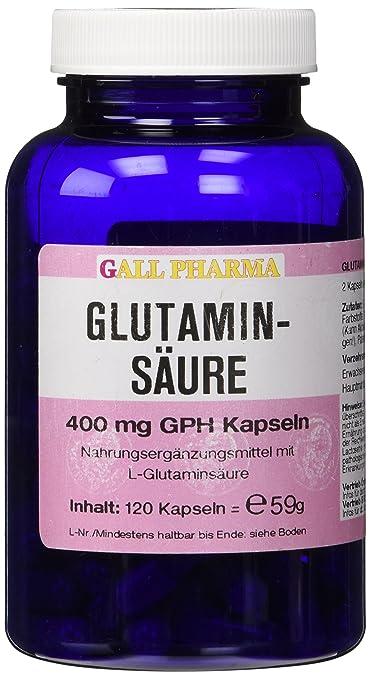 Gall Pharma Glutaminsäure 400 mg GPH Kapseln, 1er Pack (1 x 59 g)