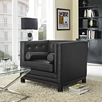 Imperial Armchair, Black