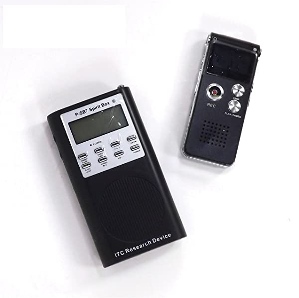 EVP RECORDER Plus P-SB7 SPIRIT BOX Paranormal Research Tools for Ghost Hunting