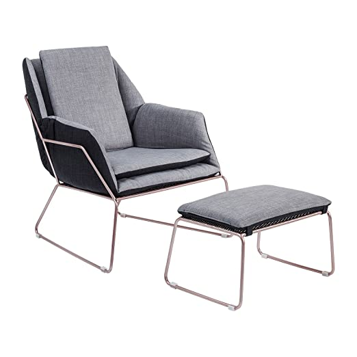 Fauteuil & repose-pieds Space Kare Design