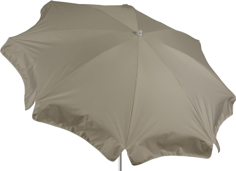 beo Sonnenschirme wasserabweisender, rund, Durchmesser 180 cm, beige kaufen