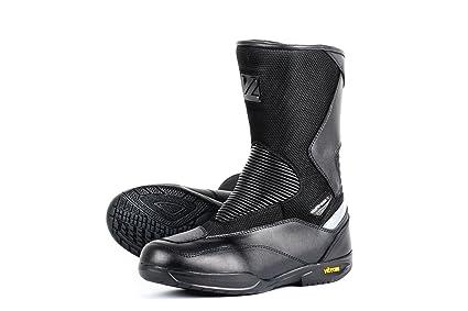 V Quattro Design V4S-ROADWP-BK42 Chaussure de Moto, Noir, 42