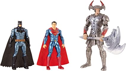 Justice League - FGG57 - Coffret de Combat 3 Figurines 15 cm