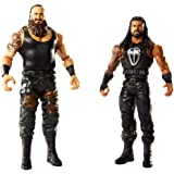 WWE Figure Series # 54 Braun Strowman & Roman Reigns Action Figures, 2 Pack