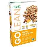 Kashi GOLEAN, Breakfast Cereal, Honey Almond Flax Crunch, Non-GMO Project Verified, 14 oz(Pack of 4) (Tamaño: 14-Ounce (Pack of 4))