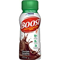 24-Pack Boost High Protein Complete Nutritional Drink (Chocolate Sensation)