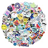 Water Bottle Stickers Cute Girl Stickers 103pcs Variety Vinyl for Laptop Stickers Car Motorcycle Bicycle Luggage Decal Graffiti Patches Skateboard Stickers(Water Bottle 103) (Color: water bottle 103)