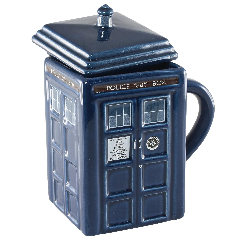 Taza para café Doctor Who Tardis (la nave que viaja en el tiempo)- Doctor Who Tardis Figural Mug Precio: $21.94