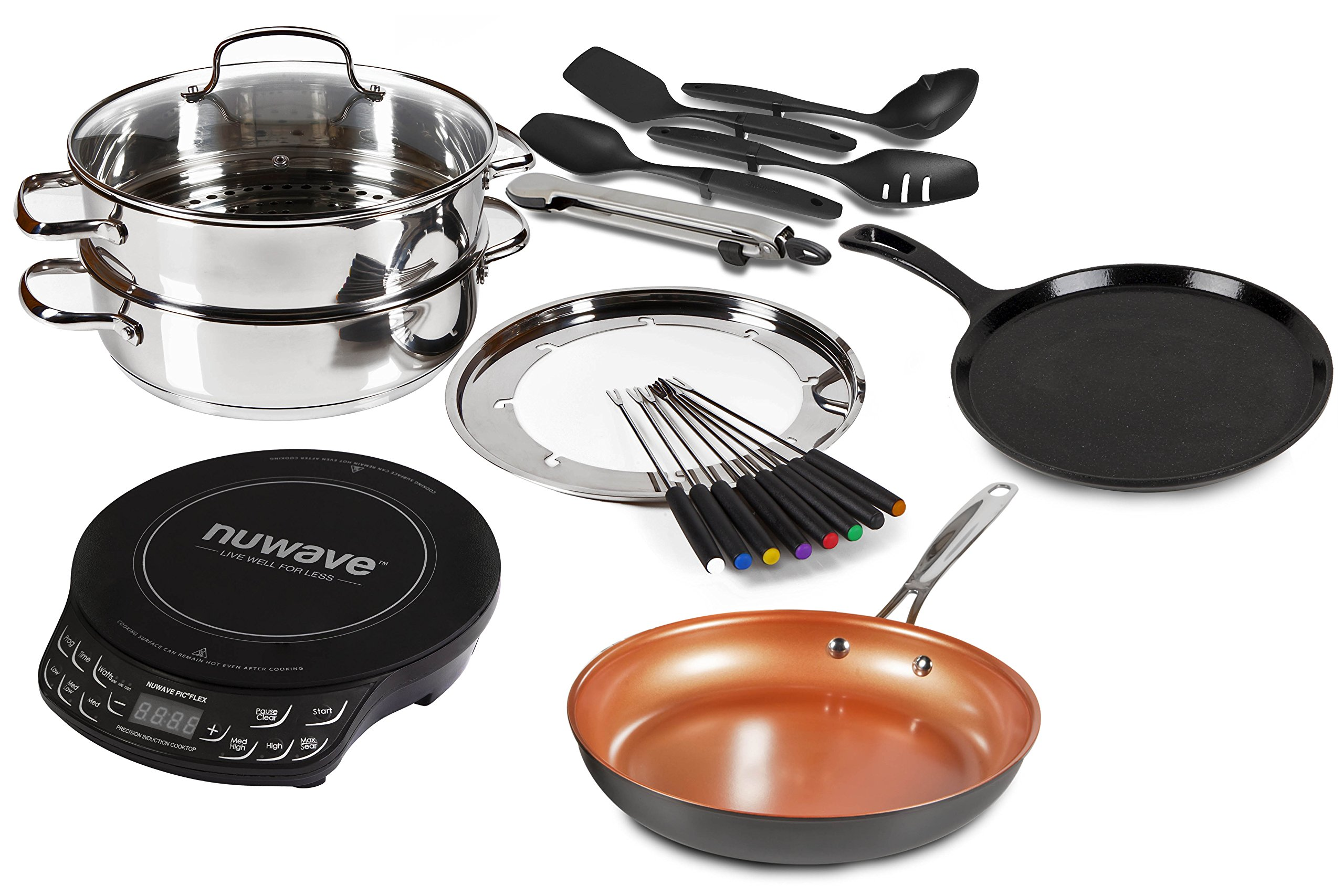 Nuwave Induction Cooktop Set