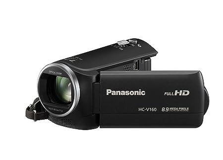 Panasonic HC-V160 Camescopes Classique 1080 pixels Zoom Optique 38 x 2.51 Mpix