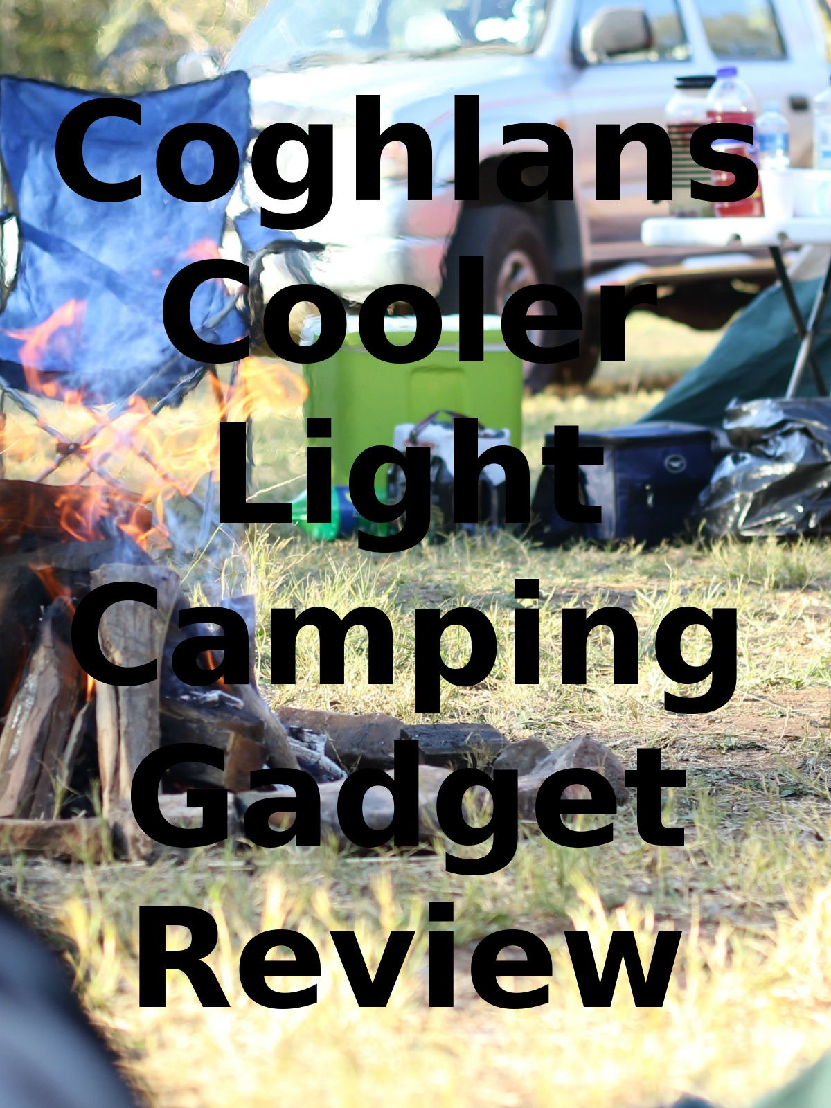 Review: Coghlans Cooler Light Camping Gadget Review