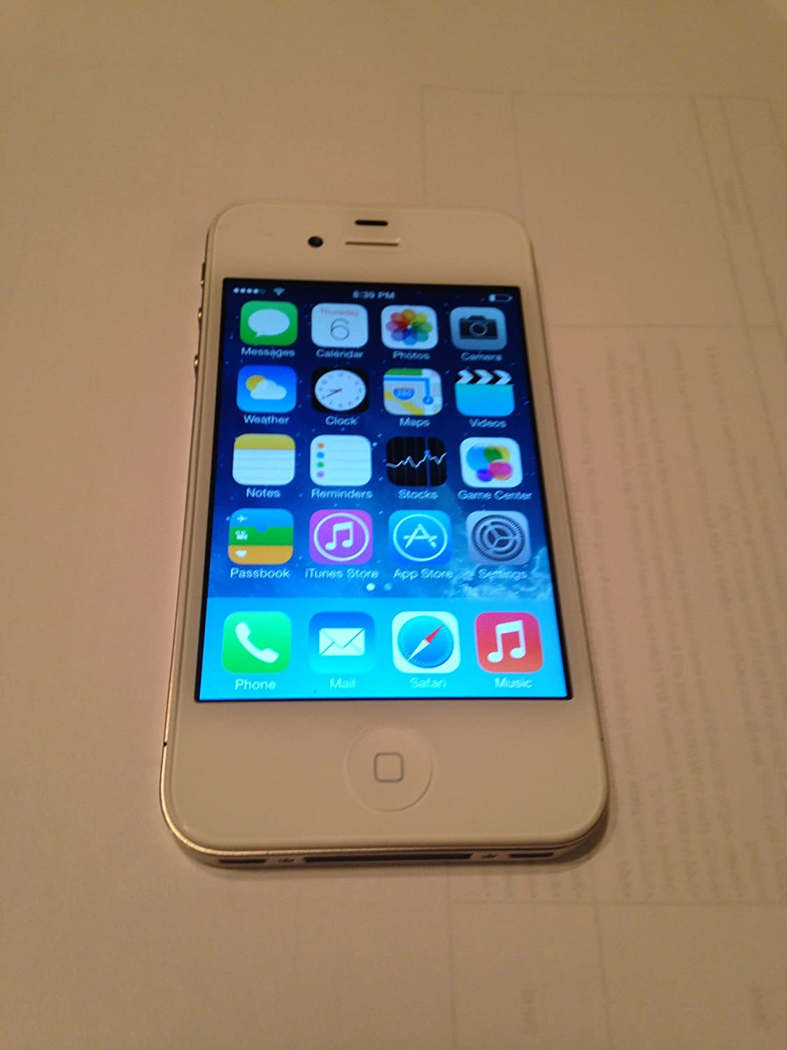 iPhone-4-VIRGIN-MOBILE-8gb-Clean-ESN-White-