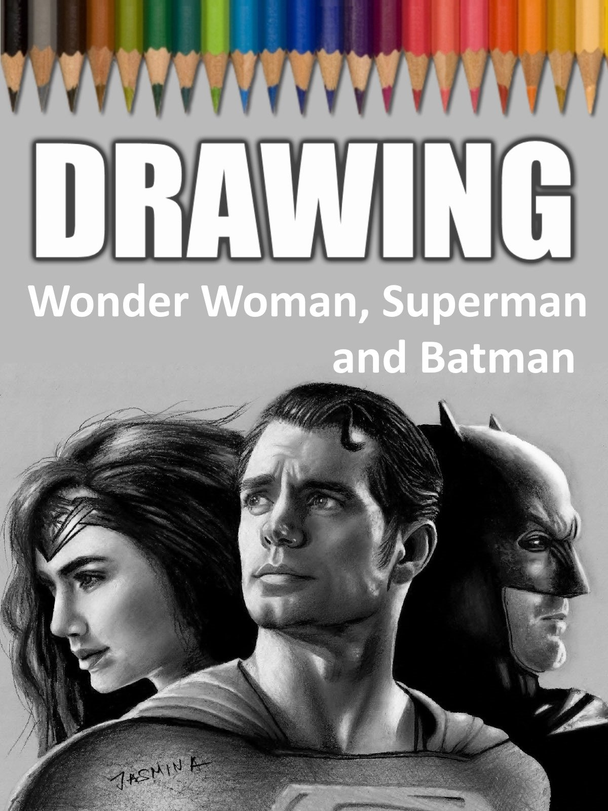 Clip: Drawing Wonder Woman, Superman and Batman on Amazon Prime Instant Video UK