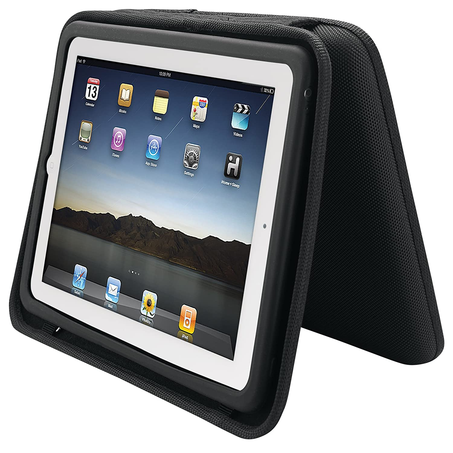 Ihome Ipad Travel Durable Case W Rechargeable Flat