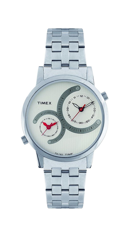 Get Flat 50% Off On Timex Fashion Analog White Dial Men's Watch - TI000K20800
