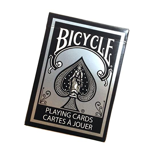 Jeu Bicycle Black and Silver (US Playing Card Company)