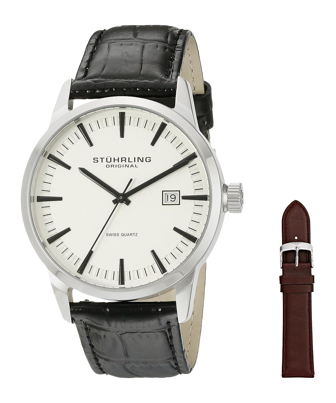 buy stuhrling original classic analog beige dial men s watch buy stuhrling original classic analog beige dial men s watch 555a 03 online at low prices in amazon in