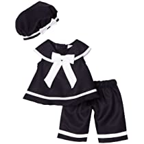 Rare Editions Baby-Girls Infant Nautical Capri Set