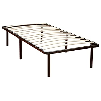 twin steel platform bed frame 2