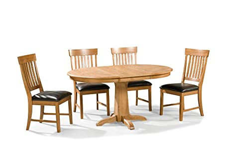 Family Dining Solid Oak 5 Pc Set